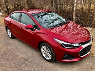 Used 2019 Chevrolet Cruze LT With  only 32500 km $57 weekly for sale in Perth, ON