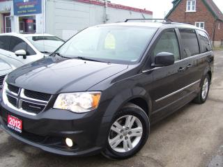 Used 2012 Dodge Grand Caravan Crew Plus,GPS,BLUETOOTH,CERTIFIED,BACKUP CAMERA,,, for sale in Kitchener, ON