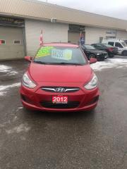 Used 2012 Hyundai Accent GL for sale in Kitchener, ON