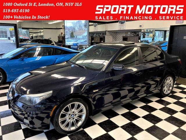 2008 BMW 5 Series 535xi+New Tires+Sunroof+Xenos+Navigation+