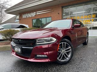 Used 2019 Dodge Charger SXT AWD Sunroof Navigation Rear Cam Certified* for sale in Concord, ON