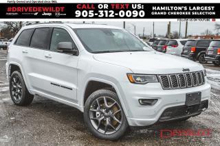 New 2021 Jeep Grand Cherokee 80th Anniversary Edition | Premium Lighting | for sale in Hamilton, ON