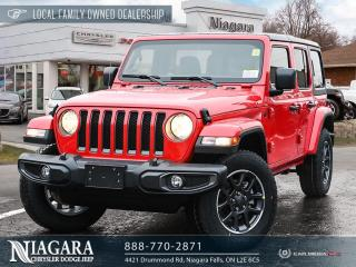 New 2021 Jeep Wrangler Unlimited Sport 80th Anniversary for sale in Niagara Falls, ON