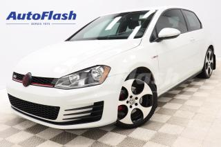 Used 2015 Volkswagen Golf GTI *GOLF GTI *220HP! *PERFORMANCE *COUPE *M6 *CAMERA for sale in Saint-Hubert, QC