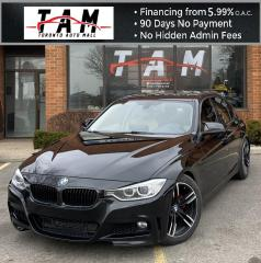 Used 2013 BMW 3 Series 328i xDrive Back-Up Camera Sunroof Leather Clean Carfax No Accident for sale in North York, ON