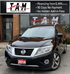 Used 2014 Nissan Pathfinder S 4WD PLATINUM NAVI Sunroof DVD Entertainment Back-Up Camera 7 Passenger for sale in North York, ON