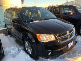 Used 2015 Dodge Grand Caravan SXT Premium Plus for sale in Pembroke, ON
