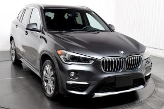 Used 2017 BMW X1 XDRIVE GPS AIR CLIMATISÉ CUIR MAGS TOIT PANO for sale in Île-Perrot, QC