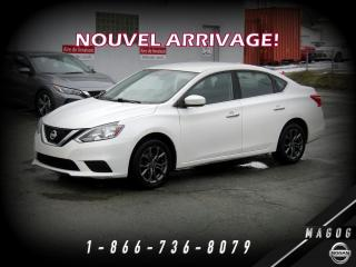 Used 2017 Nissan Sentra SV + MAGS + CAMÉRA + BLUETOOTH! for sale in Magog, QC