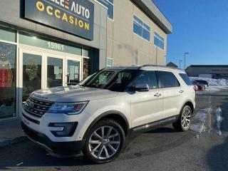 Used 2017 Ford Explorer 4WD 4dr Limited for sale in St-Georges, QC