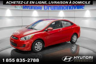 Used 2015 Hyundai Accent LE + GARANTIE + A/C + BLUETOOTH + WOW !! for sale in Drummondville, QC