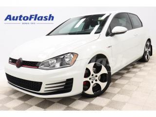 Used 2015 Volkswagen Golf GTI *GOLF GTI *220HP! *PERFORMANCE *COUPE *M6 *CAMERA for sale in St-Hubert, QC