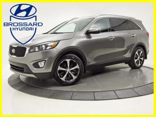 Used 2017 Kia Sorento AWD EX V6 CUIR 7 PLACES TOIT PANO MAGS for sale in Brossard, QC