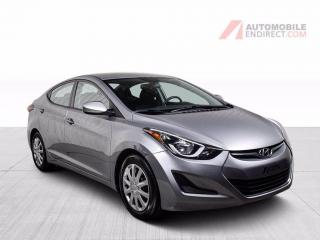 Used 2016 Hyundai Elantra GL A/C GROUPE ELECTRIQUE for sale in St-Hubert, QC