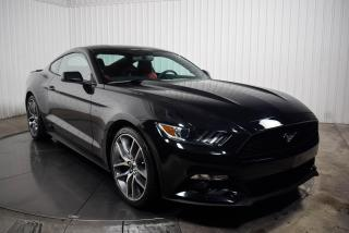 Used 2017 Ford Mustang FASTBACK  ECOBOOST PREMIUM  CUIR ROUGE  NAV MAGS for sale in St-Hubert, QC