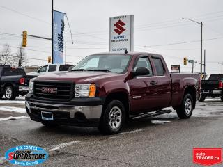 Used 2013 GMC Sierra 1500 WT Double Cab ~4.8L V8 ~Trailer Tow Package for sale in Barrie, ON