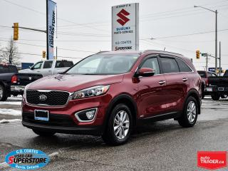 Used 2017 Kia Sorento LX AWD ~Heated Seats ~Fog Lamps ~Alloy Wheels for sale in Barrie, ON