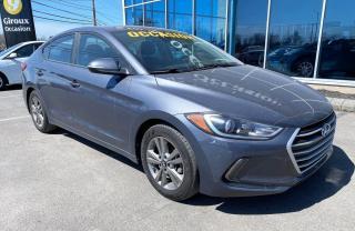 Used 2018 Hyundai Elantra GLS , AUTOMATIQUE , BLUETOOTH , CAM DE R for sale in Ste-Agathe-des-Monts, QC