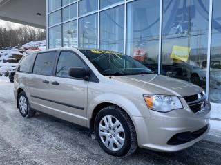 Used 2014 Dodge Grand Caravan SE PLUS , STOW N GO , COMMANDE AU VOLANT for sale in Ste-Agathe-des-Monts, QC