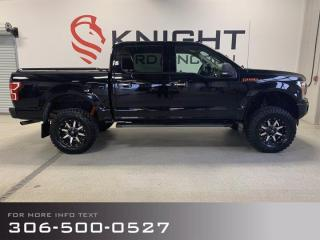 Used 2018 Ford F-150 XLT Sport, Fully loaded, Lift Kit, Fuel Rims, Navi, Heated seats, 3M, Tonneau Cover, Back up Cam!!! for sale in Moose Jaw, SK