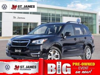 Used 2018 Subaru Forester Limited, Local One Owner, Panoramic Sunroof, Backup Camera for sale in Winnipeg, MB