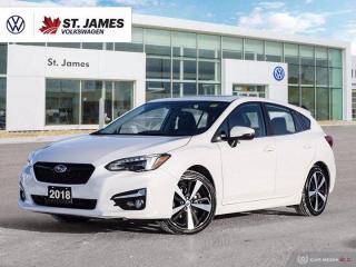 Used 2018 Subaru Impreza Sport-tech, Clean Carfax, Apple CarPlay, Heated Seats for sale in Winnipeg, MB
