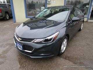 Used 2018 Chevrolet Cruze FUEL EFFICIENT LT EDITION 5 PASSENGER 1.4L - TURBO.. HEATED SEATS.. TOUCH SCREEN DISPLAY.. BACK-UP CAMERA.. AUX/USB INPUT.. BLUETOOTH SYSTEM.. for sale in Bradford, ON