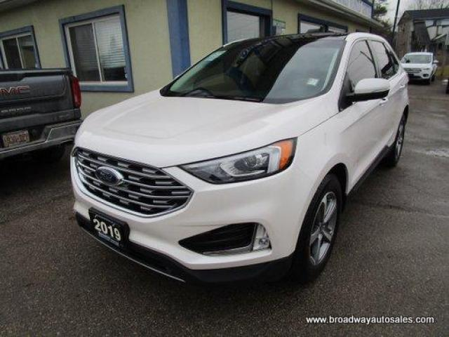 2019 Ford Edge ALL-WHEEL DRIVE SEL EDITION 5 PASSENGER 2.0L - ECO-BOOST.. NAVIGATION.. LEATHER.. HEATED SEATS & WHEEL.. BACK-UP CAMERA.. PANORAMIC SUNROOF..