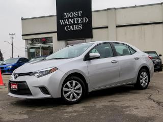 Used 2016 Toyota Corolla LE|BACK UP CAMERA|TOUCHSCREEN|BLUETOOTH|HEATED SEATS for sale in Kitchener, ON