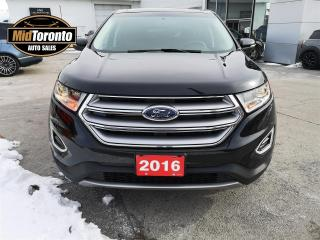 Used 2016 Ford Edge SEL - AWD - Tech Pkg - Roof - Navi - Leather - LOADED VERSION for sale in North York, ON