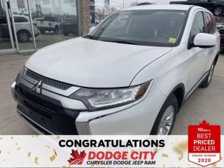 Used 2020 Mitsubishi Outlander ES-4WD,Htd. Seats,Back-Up Camera for sale in Saskatoon, SK