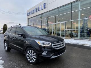 Used 2018 Ford Escape Titanium AWD TOIT GPS 8 pneus for sale in St-Eustache, QC