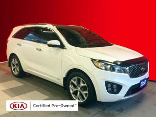 Used 2018 Kia Sorento 2.0L SX Kia Certified Pre-Owned | Navigation | Sunroof | Leather Seats for sale in Stratford, ON