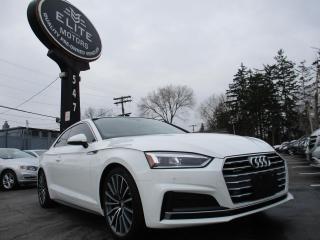 Used 2018 Audi A5 Coupe 2.0 TFSI quattro Progressiv S tronic for sale in Burlington, ON