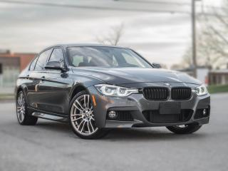 Used 2018 BMW 3 Series 340i |M-SPORT | NAV | SUNROOF | GREY ON RED |PRICE TO SELL for sale in North York, ON