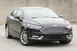 Used 2017 Ford Fusion Hybrid SE Luxury Leather Nav. for sale in North York, ON