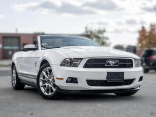 Used 2011 Ford Mustang V6 | Convertible | Leather | Heated Seats | Great Condition for sale in North York, ON