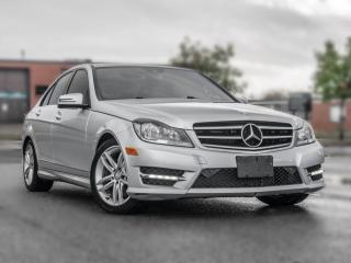 Used 2014 Mercedes-Benz C-Class C300 4MATIC | NAV | BACK UP | ROOF | GREAT CONDITION for sale in North York, ON