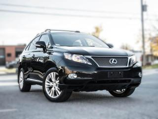Used 2010 Lexus RX 450h Hybrid | NAV |BACK UP | ROOF | HEATED SEATS  | PRICE TO SELL for sale in North York, ON
