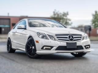 Used 2011 Mercedes-Benz E-Class COUPE | NAV | PANOROOF | HEATED SEATS | GREAT CONDITION for sale in North York, ON