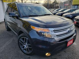 Used 2014 Ford Explorer XLT/NAVI/B.CAM/LEATHER/ROOF/HEAT&PWR SEATS/ALLOYS for sale in Scarborough, ON