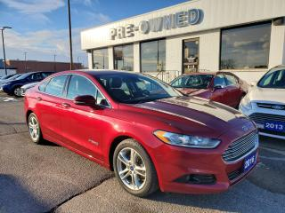 Used 2016 Ford Fusion Titanium Hybrid for sale in Brantford, ON
