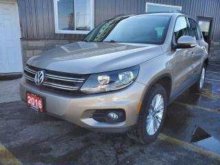 Used 2016 Volkswagen Tiguan Special Edition-LOW KM-REAR CAMERA-HEATED SEATS for sale in Tilbury, ON