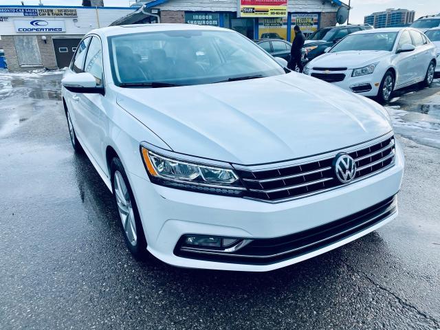 2018 Volkswagen Passat Comfortline I SUNROOF ILEATHER I BACKUP CAMERA