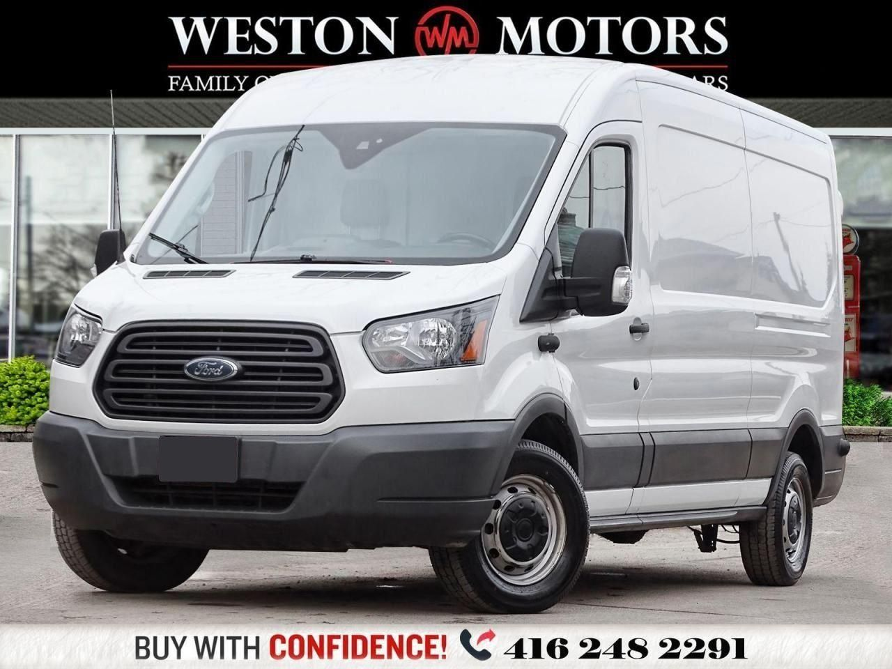 2018 Ford Transit 150 MIDROOF*3.7L*148 EXTENDED WHEEL BASE*REVCAM!!*