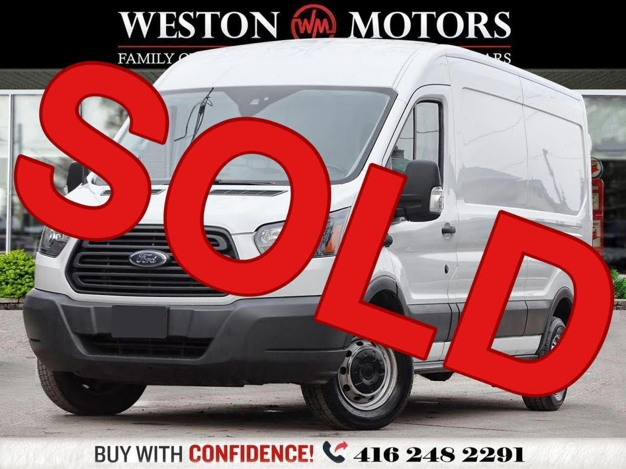 2018 Ford Transit 150 MIDROOF*3.7L*148 EXTENDED WHEEL BASE*REVERSE CAM