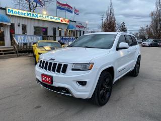 Used 2016 Jeep Grand Cherokee Overland-SOLD for sale in Stoney Creek, ON