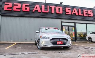 Used 2017 Hyundai Elantra GLS|ACCIDENT FREE|BACKUP CAMERA|HEATED SEATS for sale in Brampton, ON