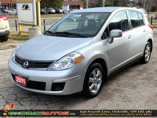 Used 2011 Nissan Versa SL|LOW KM|NO ACCIDENT|SINGLE OWNER|NAVI|CERTIFIED for sale in Oakville, ON