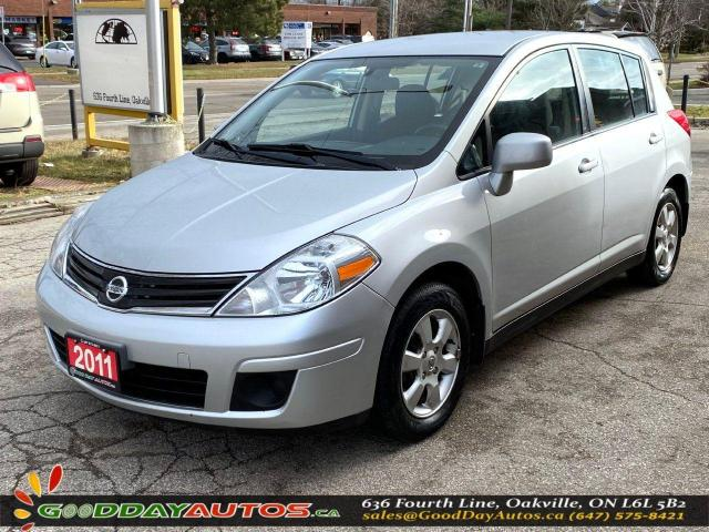 2011 Nissan Versa SL|LOW KM|NO ACCIDENT|SINGLE OWNER|NAVI|CERTIFIED